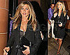 Pictures of Jennifer Aniston at Cipriani in London After Launching Fragrance