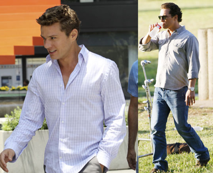 Matthew McConaughey Fits in His Fitness on the Set of The Lincoln Lawyer