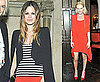 Pictures of Rachel Bilson and Kate Bosworth and Vanessa Bruno Dinner