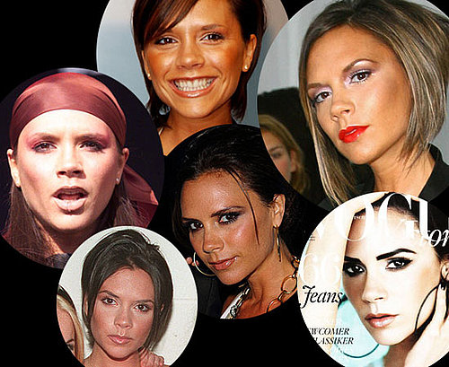 Victoria Beckham's Hair and Makeup Throughout the Years
