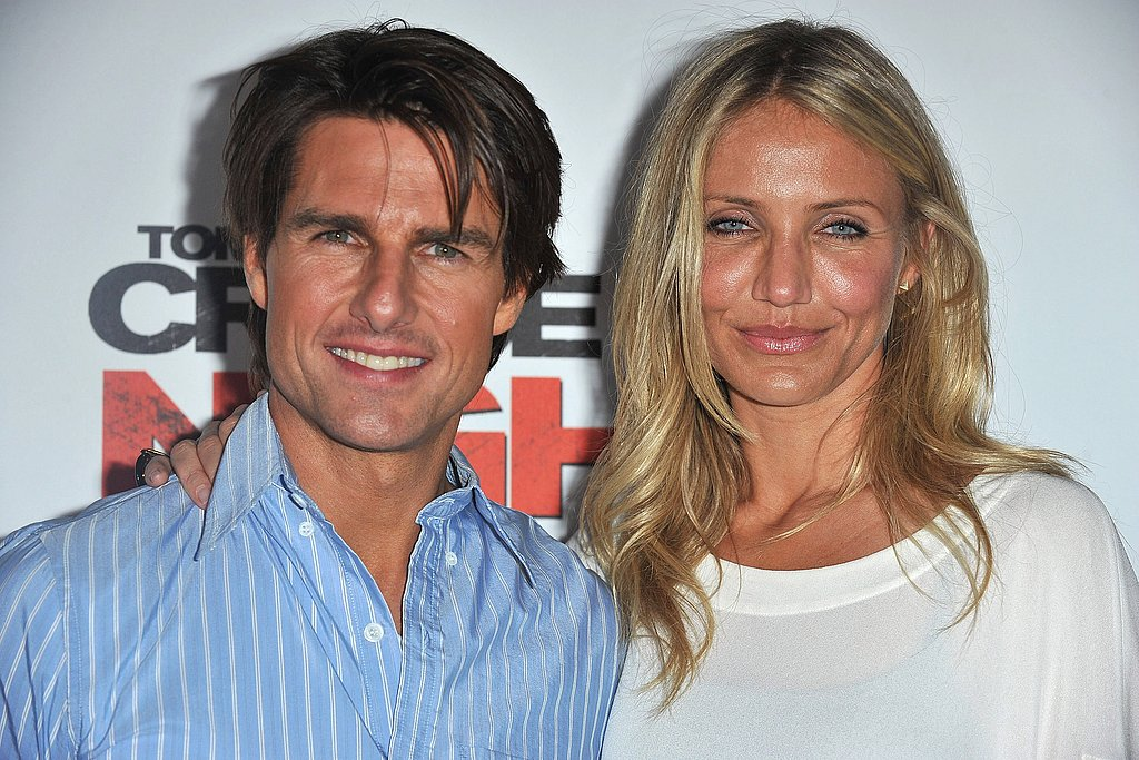 Pictures of Camerona Diaz and Tom Cruise in France