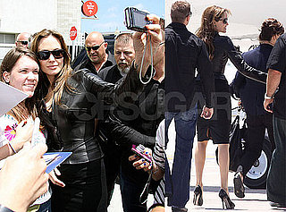 Pictures of Angelina Jolie Leaving Comic-Con