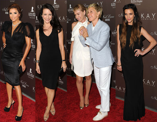 Ellen and Portia Shine in Diamonds and Join Eva, Ashlee and Kristin For Neil Lane's Big Night 2010-07-25 16:00:00