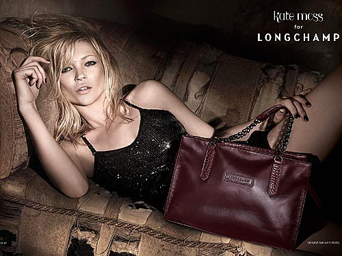 Kate Moss For Longchamp, Fall '10