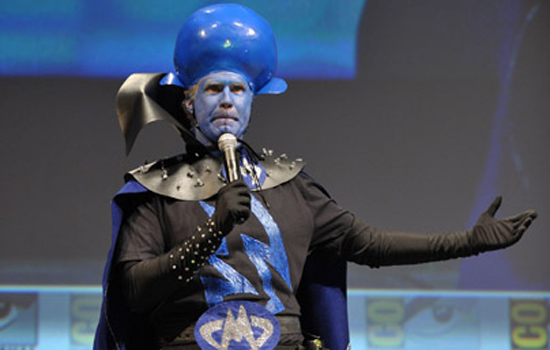 Best Costume: Will Ferrell, Megamind