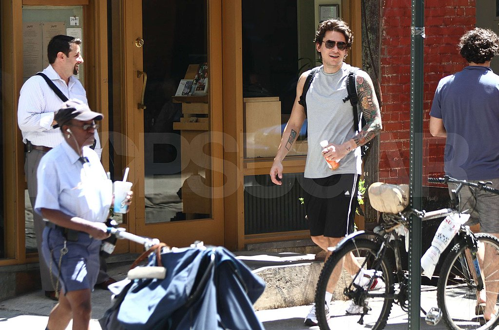 Pictures of John Mayer in NYC