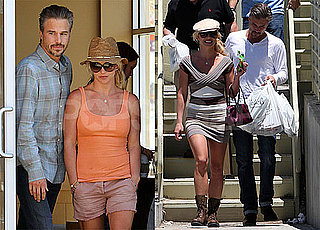 Pictures of Britney Spears With Jason Trawick and His Parents