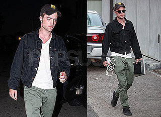 Pictures of Robert Pattinson Enjoying a Weekend in LA