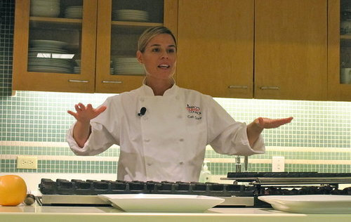 Cat Cora's Tips For Home Cooks
