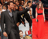 Jessica Biel and Bradley Cooper at A-Team UK Premiere