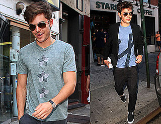 Pictures of Zac Efron in New York