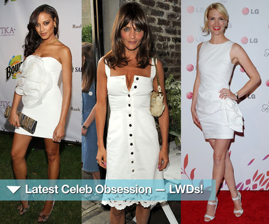 Latest Celeb Obsession — Little White Dresses!