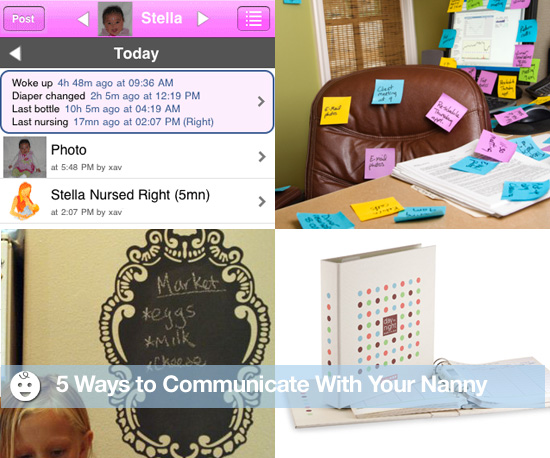 Five Ways to Communicate With Your Nanny