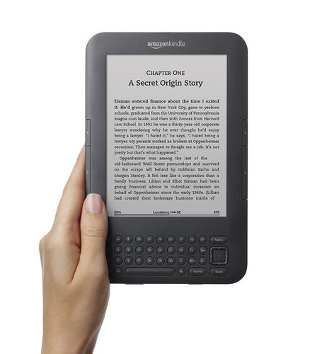 New Kindle Launching Tomorrow