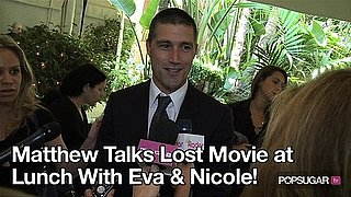 Video of Matthew Fox Interview About a Lost Movie