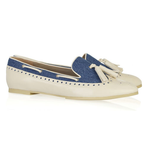 Tassel-Detail Leather Moccasins, approx $299, See by Chloé from Net-A-Porter