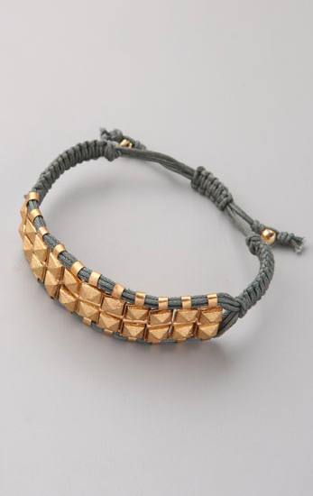 Rocker Stud Bracelet, approx $83, Shashi from Shopbop