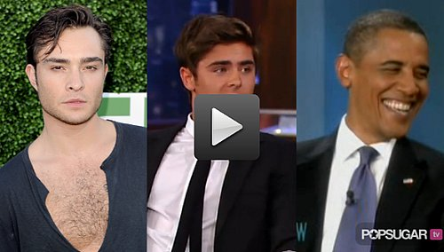 Barack Obama Talks About Lindsay Lohan and Snooki On The View, Zac Efron Gets Vanessa's Permission to Visit a Strip Club 2010-07-29 14:40:34