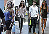 Pictures of Chace Crawford, Blake Lively, Leighton Meester, and Jessica Szohr Filming Gossip Girl in NYC