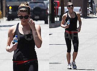 Pictures of Ashley Greene After a Workout in LA