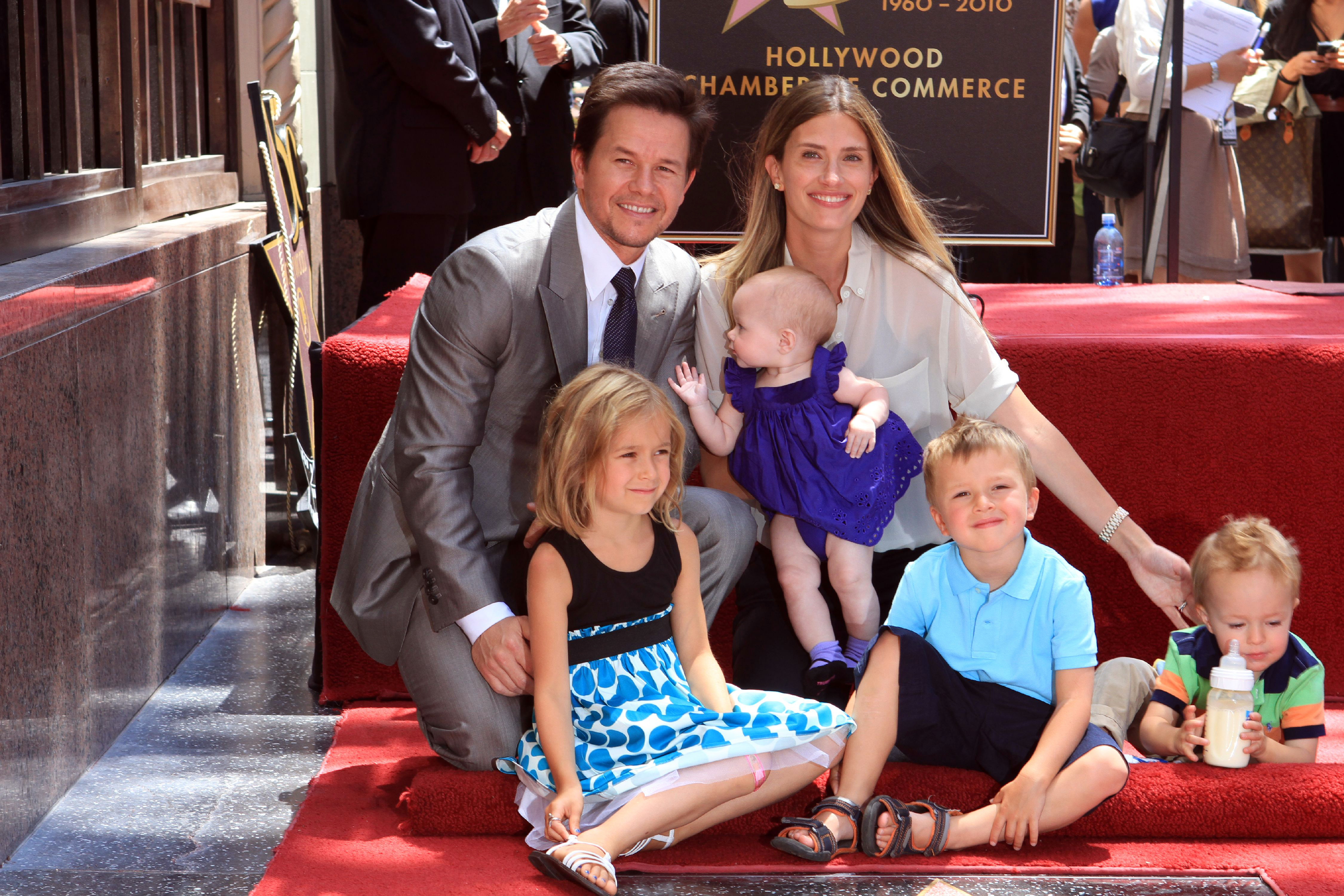 Paul Wahlberg Family Mark wahlberg introduces baby