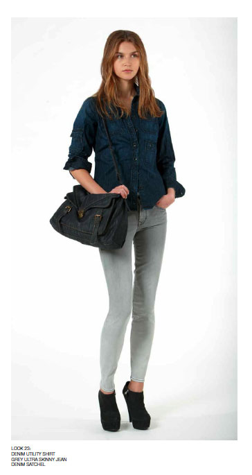 Sneak Peek! Gap's Fall '10 Denim Refresh