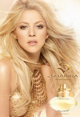 Shakira to Launch a New Fragrance