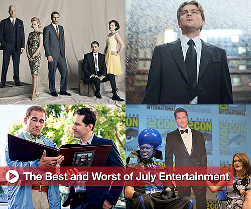 Best and Worst of Movies, TV, and Music in July