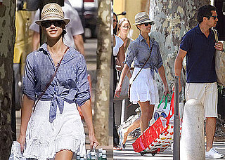 Pictures of Jessica Alba and Cash Warren on Vacation in France
