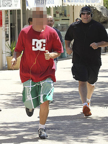 Photo of Celebrity Running