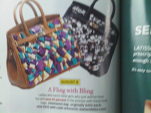 leah and bliss glamazon handbag