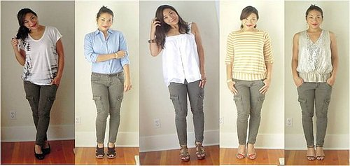 Cargos Pants- One Pair, 5 ways