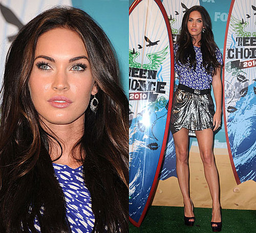 Megan Fox at 2010 Teen Choice Awards wearing Isabel Marant