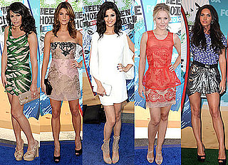 Best Dressed at 2010 Teen Choice Awards