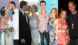 Pictures of Newlyweds Alicia Keys, Chelsea Clinton, James Van Der Beek and T.I.