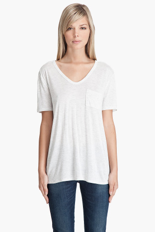 T by Alexander Wang Classic Pocket T-Shirt