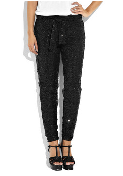 J.Crew Sequined Slouch Pants