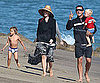 Slide Picture of Gwen Stefani and Gavin Rossdale With Kingston and Zuma in Malibu