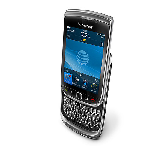 Photos of the New BlackBerry Torch 9800