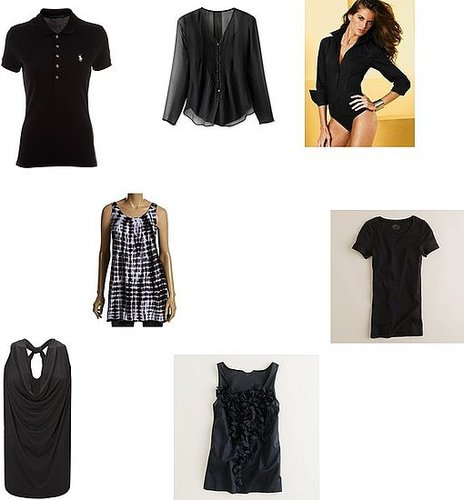 Black tops for women
