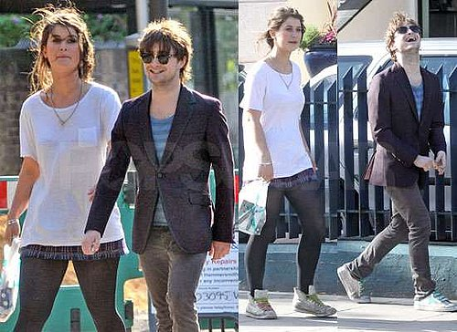 First Pictures of Daniel Radcliffe With His New Girlfriend Olive Uniacke