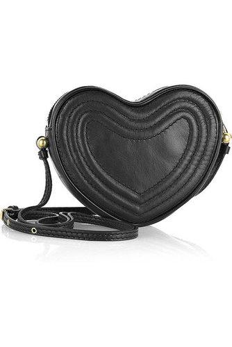 Marc by Marc Jacobs|Leather heart shoulder bag|NET 195