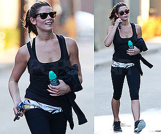 Pictures of Ashley Greene Going to The Gym in LA