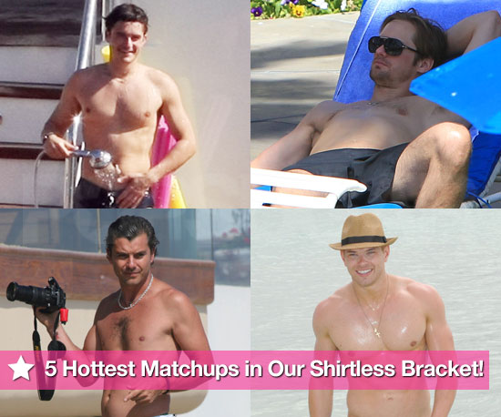 5 Hottest Matchups of Our Shirtless Bracket Day One!