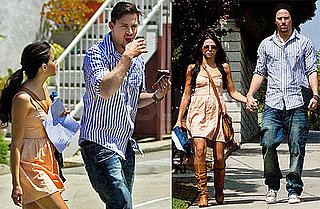 Pictures of Channing Tatum and Jenna Dewan at Photo Shoot in LA