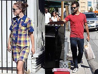 Pictures of Natalie Portman With Benjamin Millepied in LA