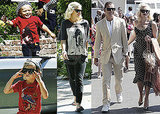 Pictures of Gwen Stefani, Gavin, Zuma and Kingston Rossdale Together in LA