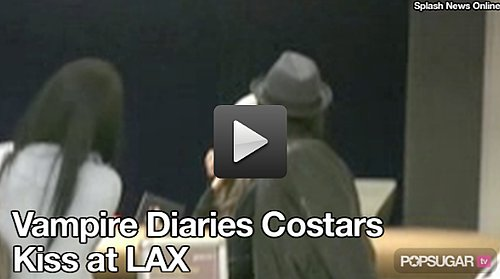 Video: Vampire Diaries Ian Somerhalder Spotted Kissing Costar Nina Dobrev!
