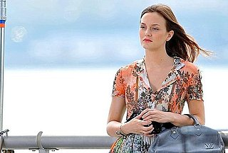 Pictures of Leighton Meester, Katie Cassidy, Clemence Poesy, and Jessica Szohr Shooting Gossip Girl