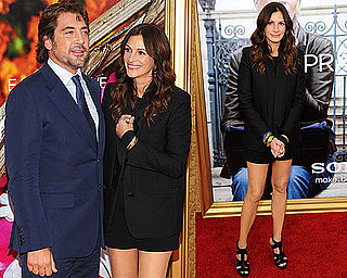 Pictures of Julia Roberts and Javier Bardem at Eat Pray Love Premiere in New York 2010-08-11 05:00:00